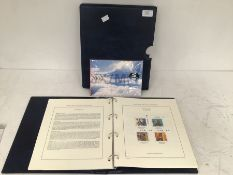 Royal Mail Millennium collection, stamps, 12 pages x 4 stamps; plus first day covers.