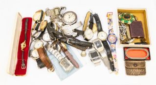 A collection of dress watches to include gents Casio, Seiko, Rodania, Limit etc along with a