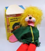 Pelham ventriloquist puppet with original box