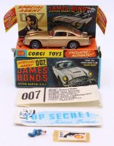 Corgi: A boxed Corgi Toys, James Bond Aston Martin D.B.5, 261, with opened secret instructions to