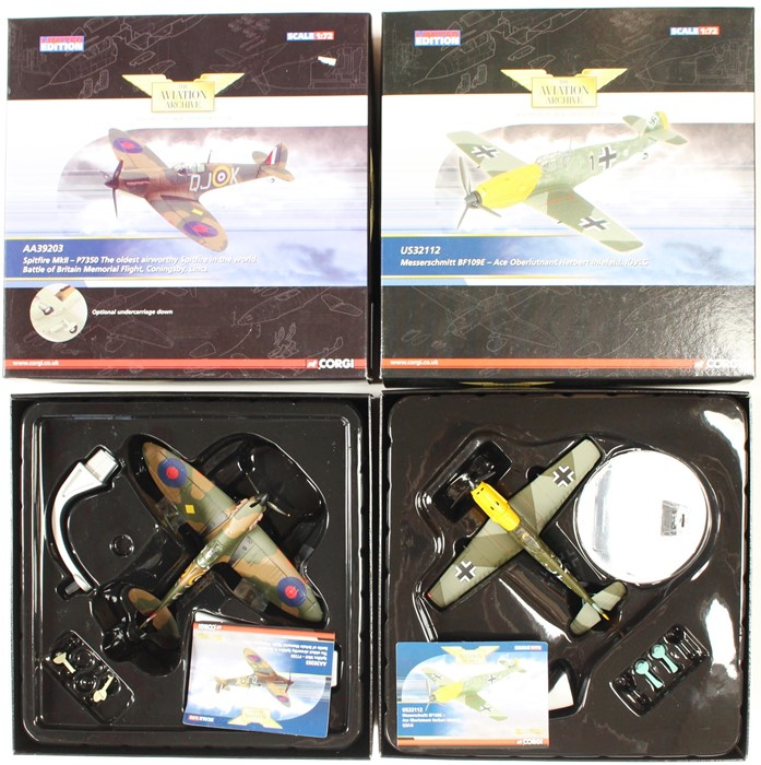 Corgi: A collection of five boxed Corgi. Limited Edition, The Aviation Archive, to include: - Image 2 of 2