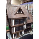 Dolls House: A quality Dolls House built by the renowned Robert Stubbs. This model is the three