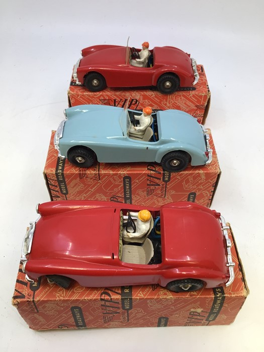 VIP Model Roadways: A collection of three boxed VIP Model Roadways MGA vehicles, comprising two in - Image 2 of 4