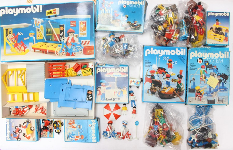 Playmobil: A collection of eight boxed Playmobil sets to comprise: Ref 3418; Ref 3531; Ref 3480; Ref - Image 2 of 2