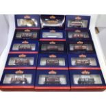 Bachmann: A collection of fifteen unused Bachmann Collectors Club wagons, all boxed.