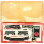 Fleischmann: A boxed Fleischmann, HO Gauge train set, No. 6345, contents appear good and complete,