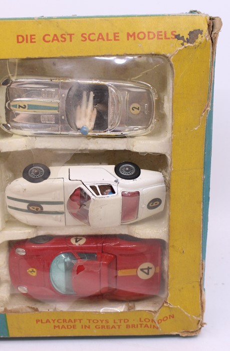 Corgi: A boxed Corgi Toys, Gift Set 46, All Winners, comprising: Ford Mustang Fastback 2+2, white - Image 4 of 4