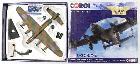 Corgi: A boxed Corgi, Special Edition, The Aviation Archive, Avro Lancaster B Mk. I (Special), LM220