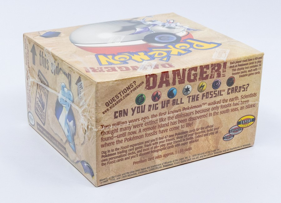 Pokemon: A sealed Pokemon Fossil Set Unlimited Booster Box, comprising 36 unopened packs, - Image 3 of 4