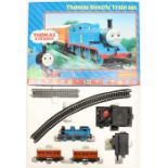 Hornby: A boxed Hornby, Thomas Electric Train Set, R9043, appears complete, general box wear,