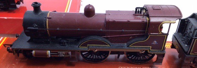 Hornby: A collection of four Hornby locomotives to include: R.2066 BR Fowler; R.355 MR Compound; R. - Image 2 of 5
