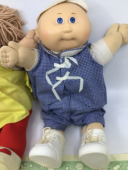 Cabbage Patch Kids: two hard face 1980's dolls with birth certificates, Malina Raquel and - Image 3 of 3