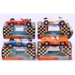 Scalextric: A collection of four boxed Scalextric Race-Tuned vehicles to comprise: Super Electra,