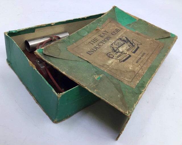 Live Steam: A SEL Steam Engine model 1540, boxed, together with SEL and Kay Induction Coils, one - Image 3 of 3