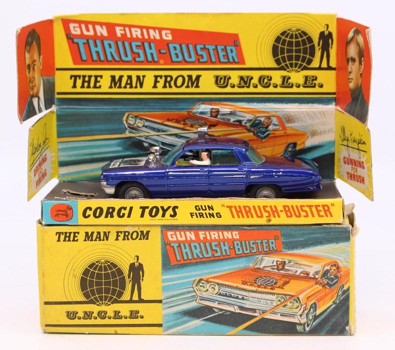 Corgi: A boxed Corgi Toys, The Man from U.N.C.L.E. Gun Firing Thrush Buster, 497, working mechanism,