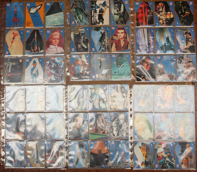 Trading Cards: A collection of Anglo Confectionary Captain Scarlet (complete set) and Pro Set - Image 2 of 3