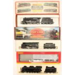 Hornby: A collection of three boxed Hornby OO gauge locomotives to comprise: Class 5MT Stanier 4-6-0