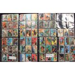 Trading Cards: A collection of Anglo Confectionary Captain Scarlet (complete set) and Pro Set