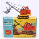 Corgi: A boxed Corgi Toys, Priestman Cub Shovel, 1128, orange and yellow two-tone body, with