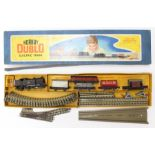 Hornby: A boxed Hornby Dublo, 3-Rail, EDG17 set, comprising: 0-6-2 BR Tank Goods Train, #69567, five