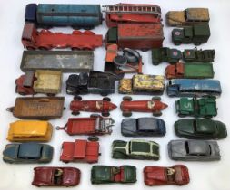 Dinky: A collection of assorted Dinky vehicles in playworn condition to include Foden Tanker,