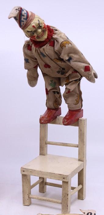 Schoenhut: A boxed Schoenhut Wonder Toy, Cracker-Jack the Clever Clown from the Humpty & Dumpty - Image 2 of 2