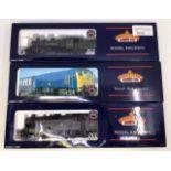 Bachmann: A collection of three OO gauge Bachmann locomotives: 32-825 Ivatt class 2MT, 32-429
