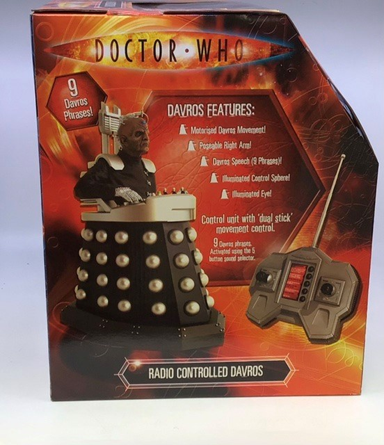 Dr Who: A boxed Dr Who Radio Controlled Davros , unused, boxed including outer box. Please study - Image 2 of 3
