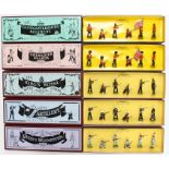 Britains: A collection of five boxed Britains sets to comprise: The Gloucestershire Regiment,