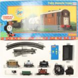 Hornby: A boxed Hornby, OO Gauge, Toby Electric Train Set, R9044, appears complete, general box