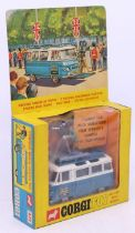 Corgi: A boxed Corgi Toys, Commer Mobile Camera Van, 479, appears complete, vehicle appears in a