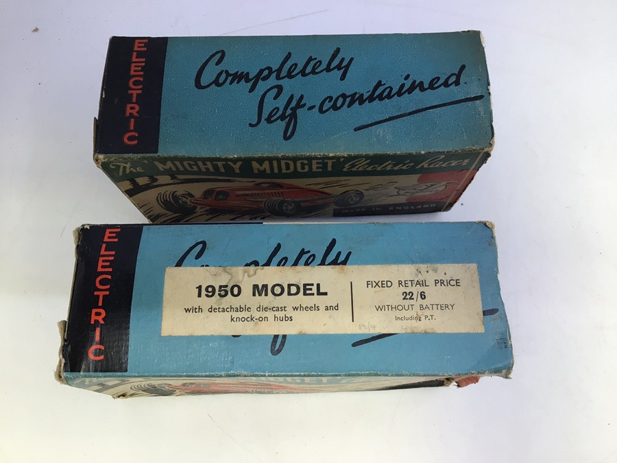 Mighty Midget: A pair of boxed Victory Industries, Mighty Midget, battery operated vehicles, one - Image 3 of 7
