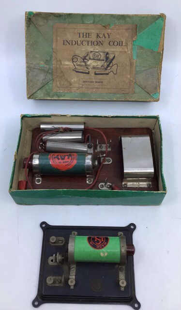 Live Steam: A SEL Steam Engine model 1540, boxed, together with SEL and Kay Induction Coils, one - Image 2 of 3