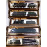 Railway: four Mainline 00 gauge locomotives to include 4-6-0 Orion loco with tender (front wheels