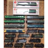 Railway: A collection of OO gauge locomotives and rolling stock, to include Hornby, Lima,