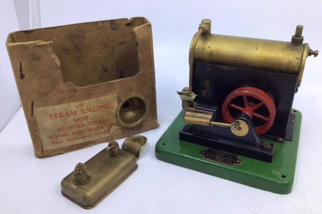 Live Steam: A SEL Steam Engine model 1540, boxed, together with SEL and Kay Induction Coils, one