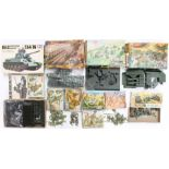 Airfix: A collection of assorted boxed Airfix to include: Coastal Defence, Gun Emplacement,