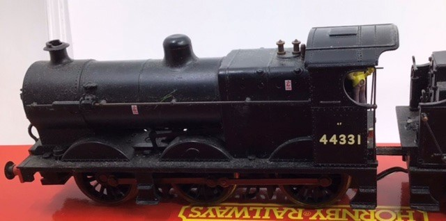 Hornby: A collection of four Hornby locomotives to include: R.2066 BR Fowler; R.355 MR Compound; R. - Image 5 of 5