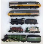 Model Railway: A collection of assorted OO gauge to include: Hornby Inter City 125 Locomotive and