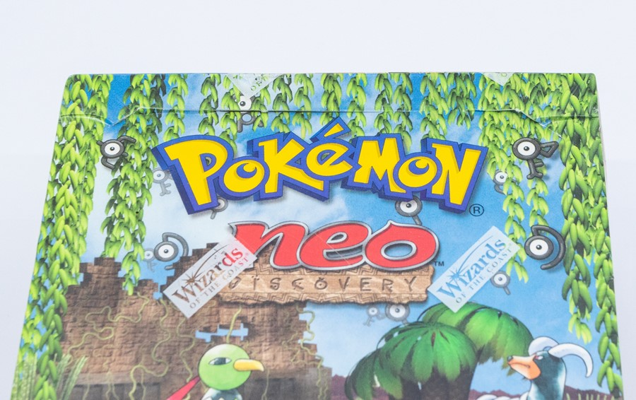 Pokemon: A sealed Pokemon Neo Discovery Set Unlimited Booster Box, comprising 36 unopened packs, - Image 5 of 5