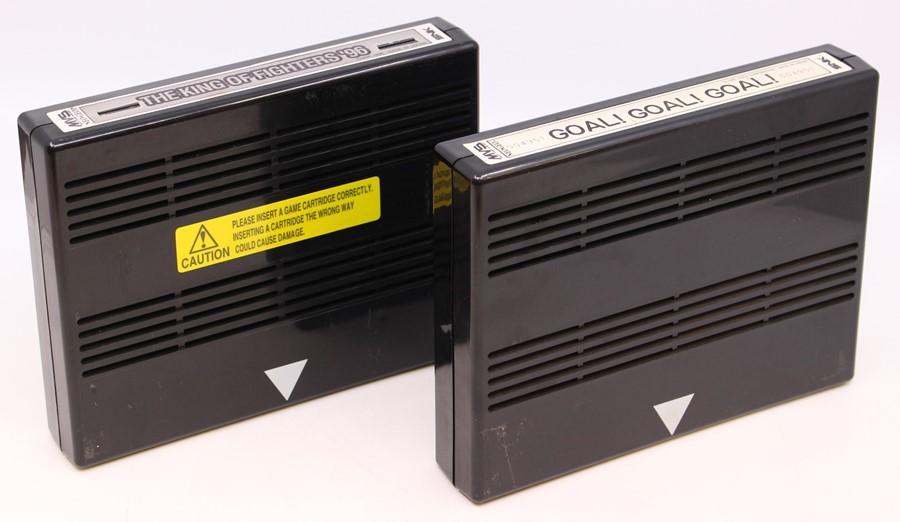 Neo Geo: An unboxed Neo Geo MVS Arcade, Goal! Goal! Goal!, Game Cartridge; together withan