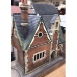 Dolls House/School House: high quality School and playground built by the Vic Newey, renowned for