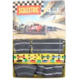 Scalextric: A boxed Scalextric, 4 in 1 Model Motor Racing Set, Set 80, original box, lid repaired,