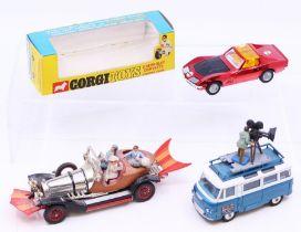 Corgi: A boxed Corgi Toys, Chevrolet Corvette Stingray Coupe, 300, tear to back of the box but