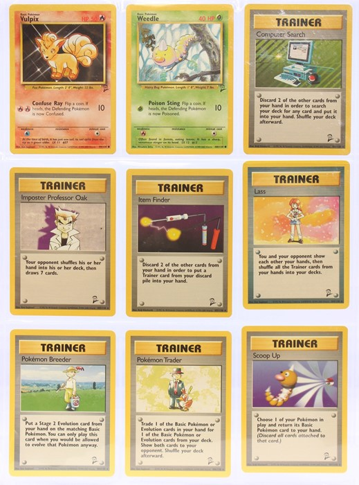 Pokemon: A completePokemon Base Card Set 2, comprising 130 cards, plus an additional Wartortle ( - Image 12 of 17