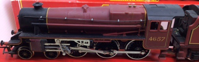 Hornby: A collection of four Hornby locomotives to include: R.2066 BR Fowler; R.355 MR Compound; R. - Image 3 of 5