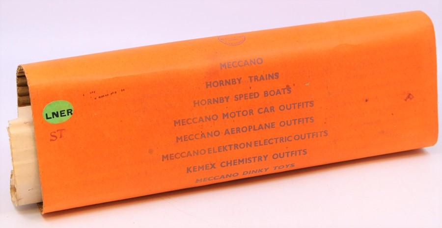 Hornby: A boxed Hornby O Gauge, Clockwork, No. 2 Mixed Goods Set, TS 413; comprising: LNER, 4-4-2 - Image 3 of 4