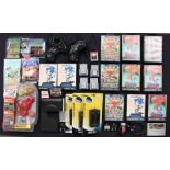 Video Games: A collection of assorted Mega Drive games, controller, and Nintendo spares and