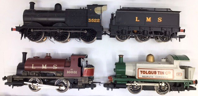 Model Railway: A collection of assorted OO gauge to include: Hornby Inter City 125 Locomotive and - Image 3 of 4
