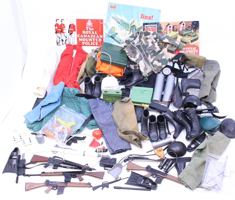 Action Man: A collection of assorted unboxed Action Man figures, including three with 'Eagle - Image 2 of 2